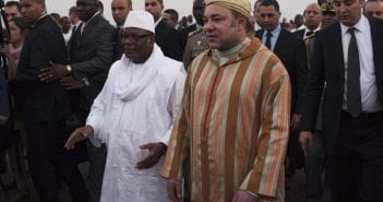Le roi Mohammed VI et le Président malien Ibrahim Boubacar Keita