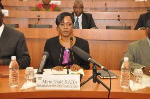 Nialé Kaba, ministre ivoirien de l'economie et des finances
