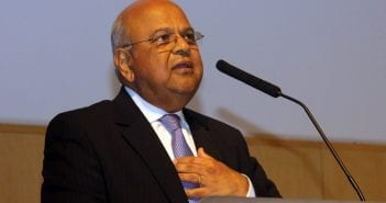 Pravin Gordhan, Ministre des Finances sud-africain