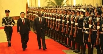 President Macky Sall Chinese President Xi Jinping