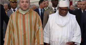 Mohamed VI et Ibrahim Boubacar Keita, président du Mali