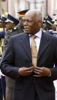José Edurdo Dos Santos, Président de l'Angola