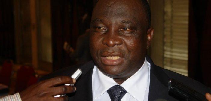 Kobenan Kouassi Adjoumani, ministre des Ressources naturelles de Côte d'Ivoire