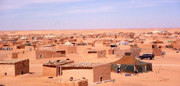 Camp Sahraoui à Tindouf en Algérie