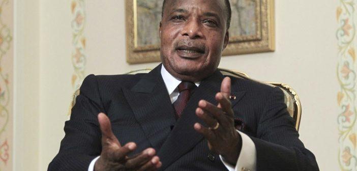 Denis-Sassou-Nguesso, président de la république du Congo