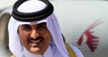L'Emir du Qatar, Cheikh Tamim Bin Hamad Al Thani
