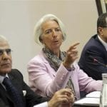 Madame Christine Lagarde DG FMI