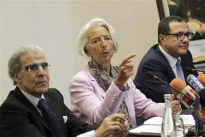 Madame Christine Lagarde DG FMI