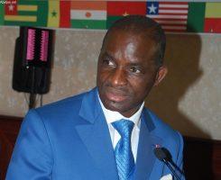 Jean Kacou Diagou, président sortant de la CGECI