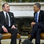 Barack Obama, président des USA et SM Mohamed VI, roi du Maroc