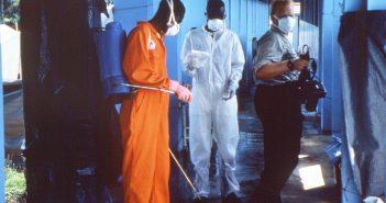 Desinfection Ebola
