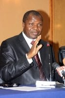 Albert Mabri Toikeusse, ministre du Plan et du développement de Côte d'Ivoire et Gouverneur à la Banque afrcaine de développement