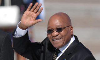 Jacob Zuma, Président de la république Sud Africaine
