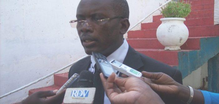 Ousmane Cissé, Directeur des mines du Sénégal
