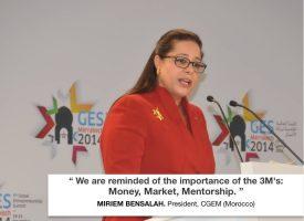 Miriem Bensalah, Présidente de la CGEM