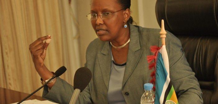 Valentine Rugwabiza, ministre rwandaise pour la Communauté de l'Afrique de l'Est