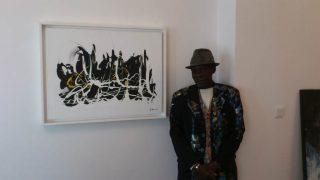 Amadou Dieng, artiste-peintre