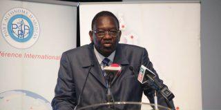 Gaoussou Touré, ministre des Transports de la Côte d'Ivoire