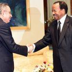 Mohamed Lazrak reçu par le Président camerounais Paul Biya
