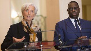 Christine Lagarde avec Macky Sall
