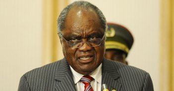 Le président namibien sortant Hifikepunye Pohamba