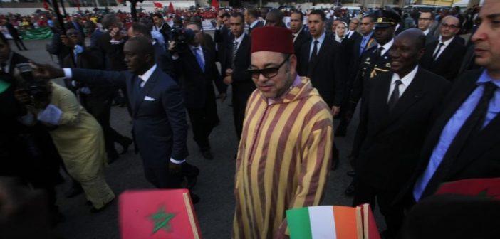 Mohammed VI en Côte d'Ivoire
