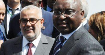 Abdelilah Benkirane, le premier ministre marocain et Donald Kaberuka, le Président de la BAD