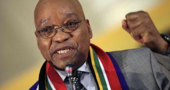 jacob Zuma, le président sud-africain
