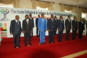 Les Chefs d Etat de l UEMOA