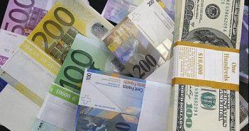 euros dollars
