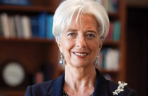 portrait Christine Lagarde
