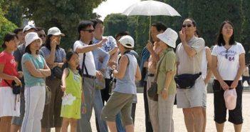touristes japonais en Tunisie