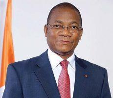 Bruno Kone, ministre de la poste ivoirien