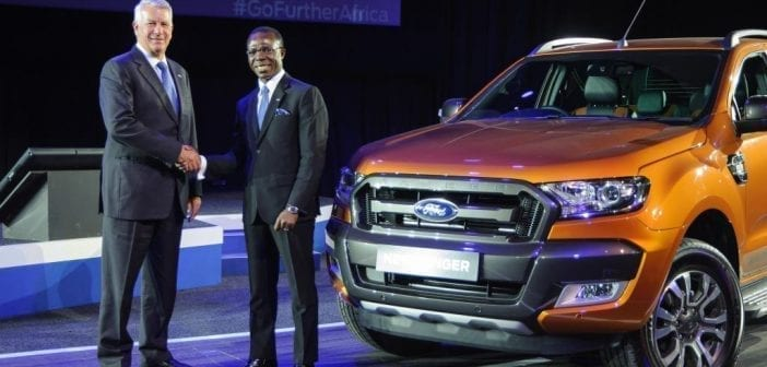 Jeff Nemeth, Ford South Africa President & CEO and Dr. Cosmas Maduka, Coscharis Motors Limited President
