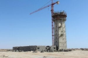 le nouvel aeroport de Nouakchott en construction
