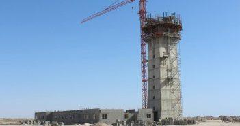 le nouvel aeroport de Nouakchott en construction