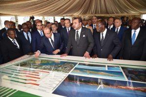 le Roi Mohammed VI et le Président Alassane Ouattara