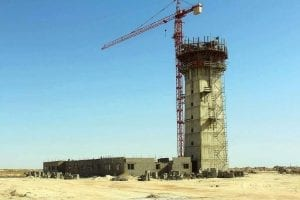 Aeroport de Nouakchott en chantier