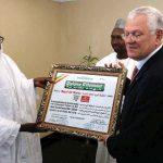 Driss Benhima PDG de la RAM et Cheikh Amadou Tall