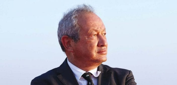 portrait Naguib Sawiris