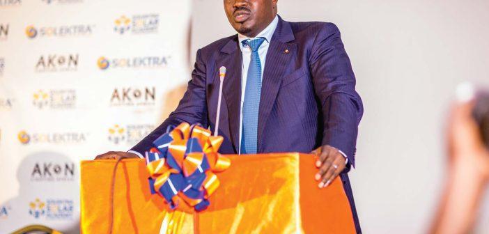 Samba Bathily Fondateur et PDG de Solektra International