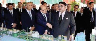 Le Roi Mohammed VI inaugure l'Africa Fertilizer Complex