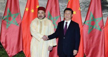 Le roi mohammed VI et le président-Xi Xinping de Chine