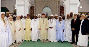 le roi mohammed VI et les oulémas africains