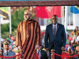 Le Roi Mohammed VI et le Président de la République de Tanzanie, John PombeMagufuli