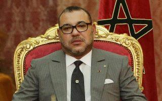 Mohammed VI, le roi du Maroc.