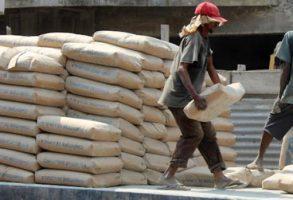 Plusieurs tonnes de ciment saisis