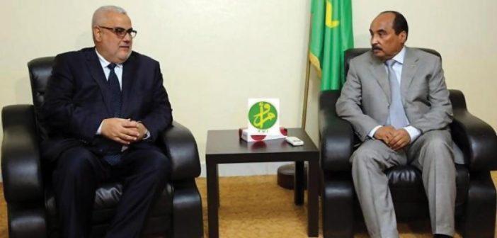 Abdellilah Benkirane et Mohamed Ould Abdelaziz