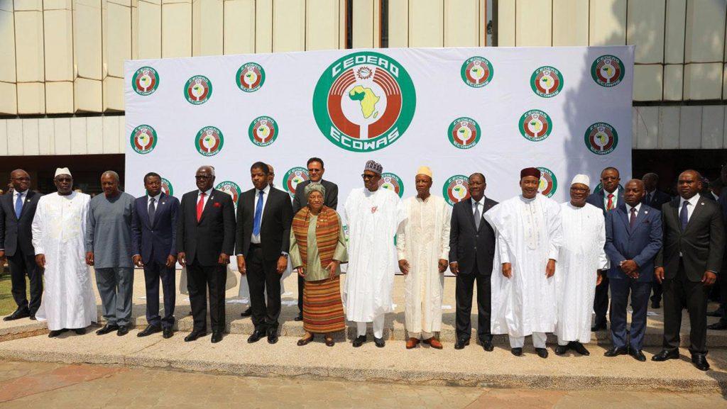 Les chefs d'Etat de la CEDEAO