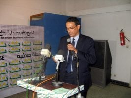 Abdelaziz Dahi, Gouverneur de la BCM